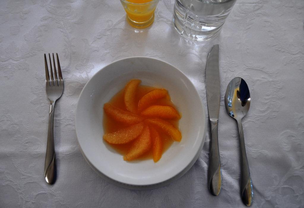 Grandma's Vanilla Citrus Soup, Mount Dora Historic Inn, Fla.