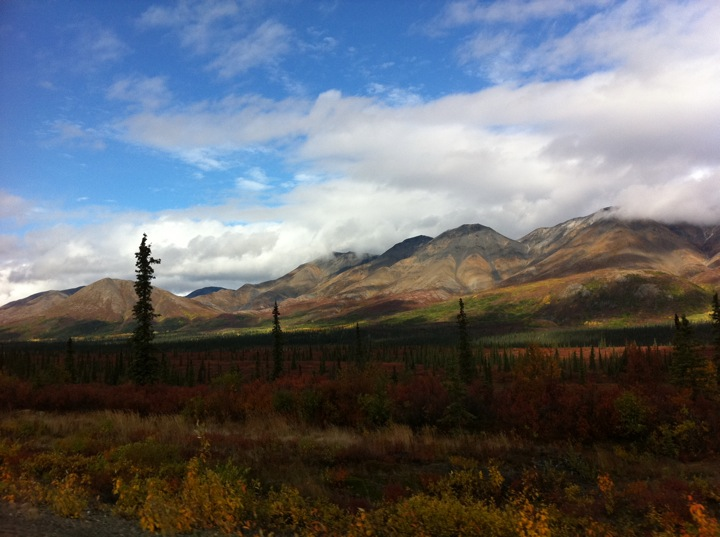 Alaska - As Seen from the Backseat of a Rental Car