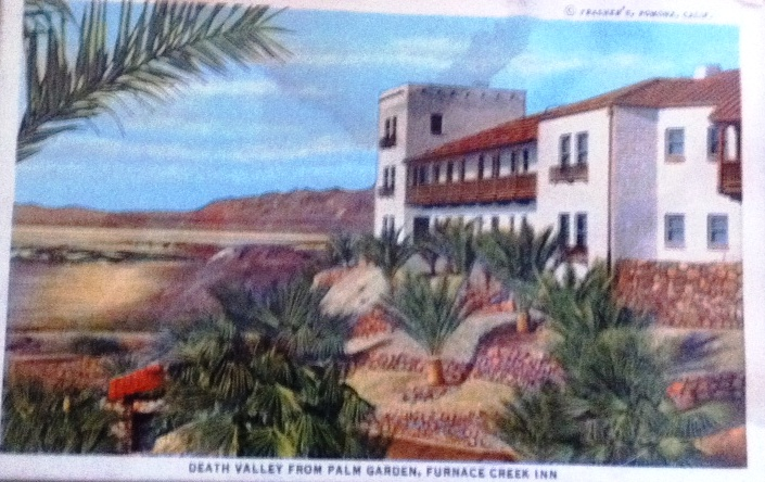Early 20th Century Postcard from Furnace Creek Inn in What's Now Death Valley National Park, Calif.