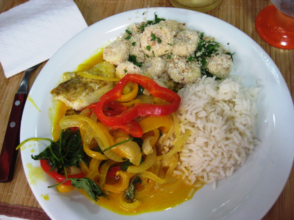 The Main Course We Prepared During Cook in Rio