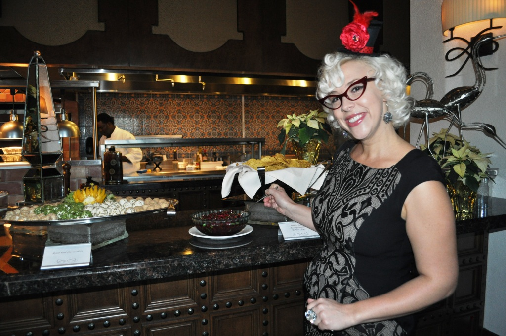 Retro-Rad Emily Ellyn Shows Off Her Cranberry Salsa and Cheese Balls, Rosen Shingle Creek, Fla., Dec. 8, 2012
