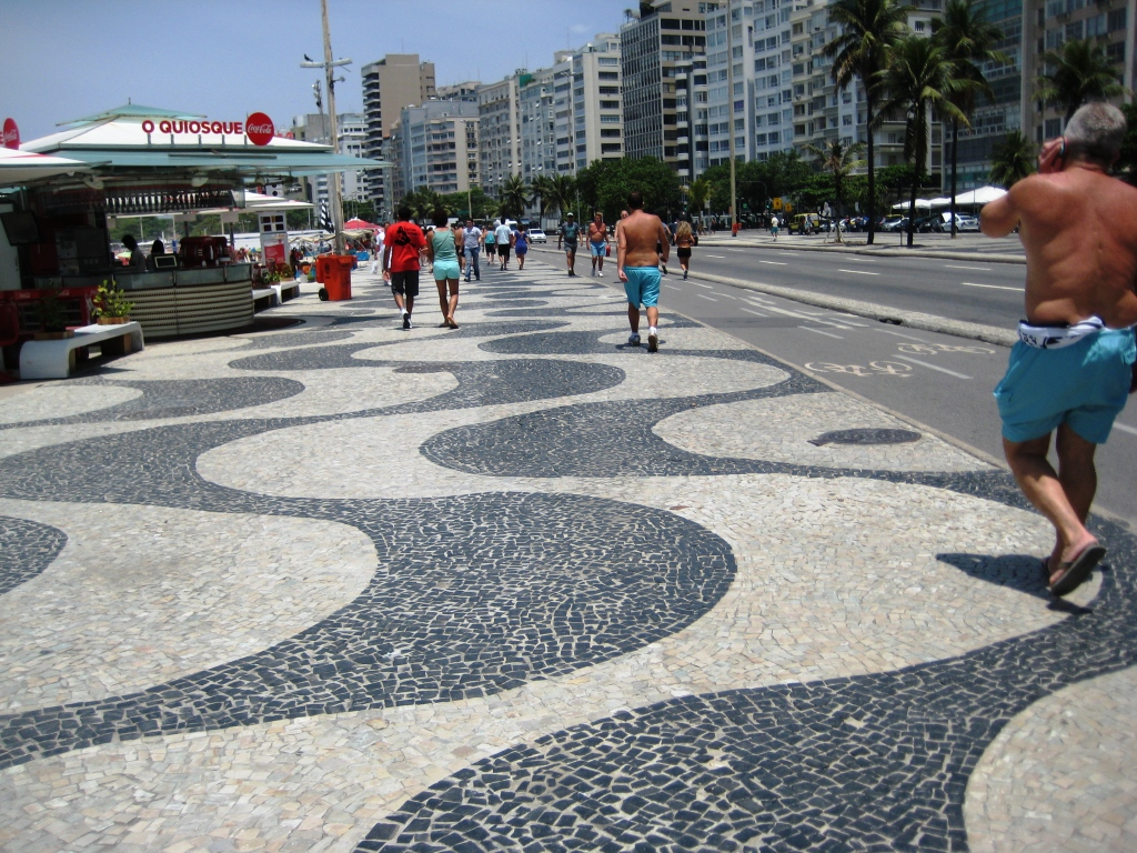 As in Any City, Stay Alert and Aware of Your Surroundings, Copacabana Beach, Rio de Janeiro, Brazil