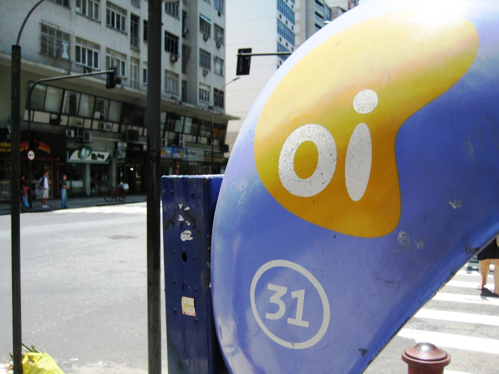"Oi! One of Rio's Phone Carriers - See the Number? Oi Also Means ""Hi"" in Portuguese"