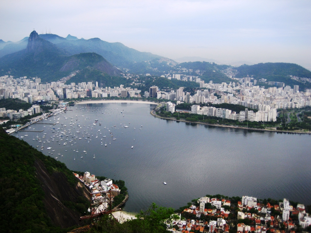 View of Rio de Janeiro from Sugarloaf Mountain, Brazil