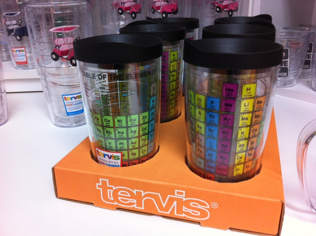 Periodic Table Mugs at Tervis Tumbler!