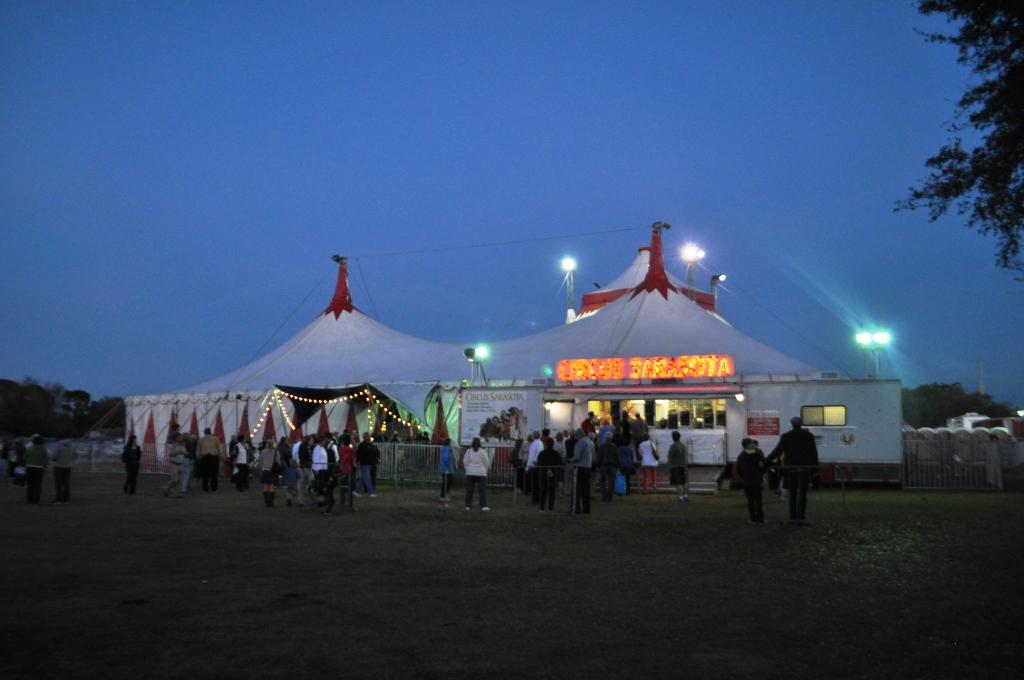 Sharing Circus Sarasota with the Parents