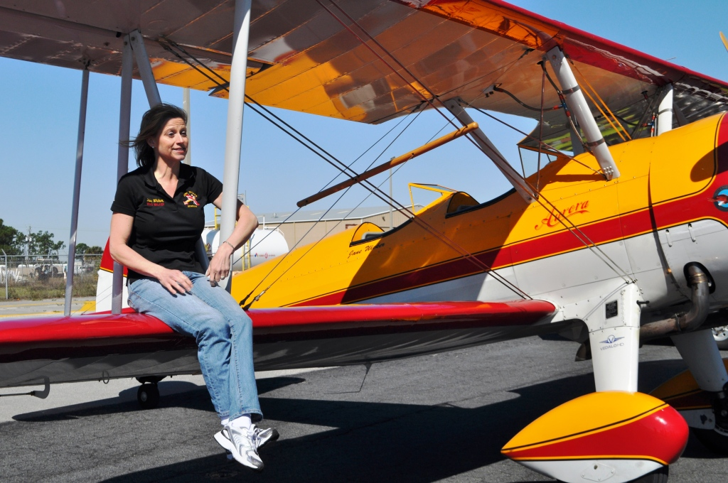 Staying Physically and Mentally Fit is Important in Being a Successful Wing Walker, Along with Good Treads