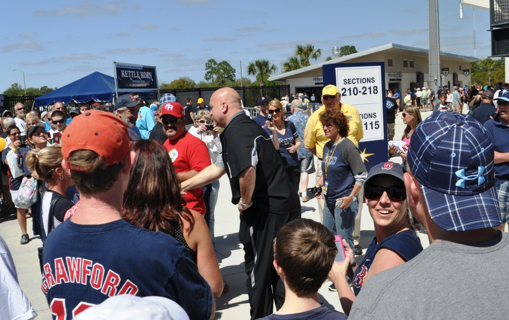 Cal Ripken, Jr. Greets Fans at the Charlotte Sports Park, Port Charlotte, Fla., Sunday, March 10, 2013