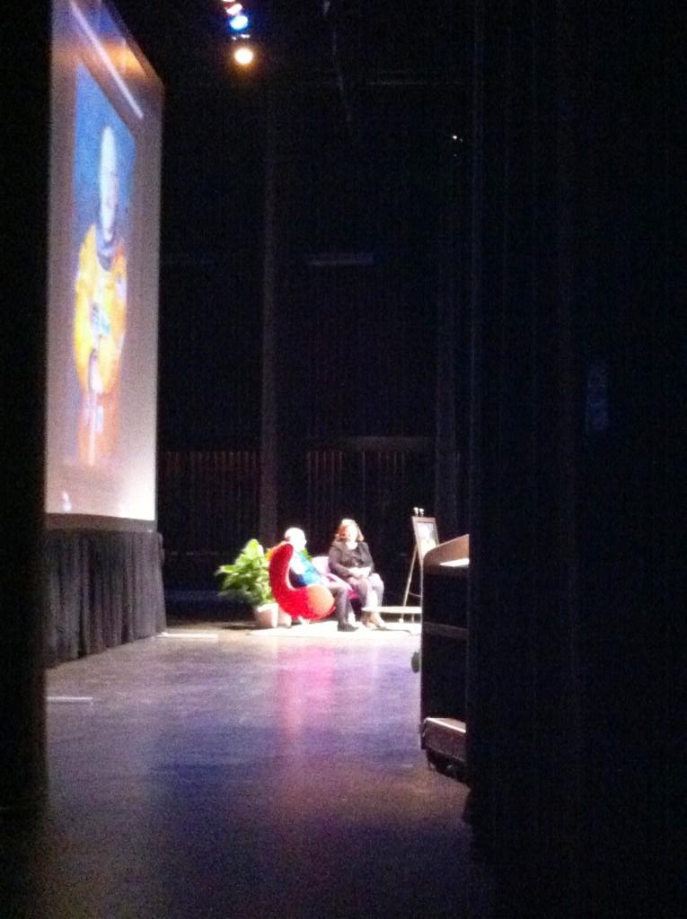 RCLA Town Hall Chair Stephanie Grosskreutz Sits Down with Capt. Mark Kelly, Sarasota, Fla., March 11, 2013