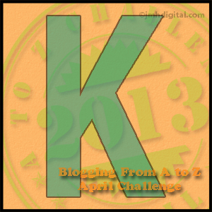 "Friday, April 12, is Brought to You by the Letter ""K"""