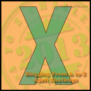 "Saturday, April 27, is Brought to You by the Letter ""X"""