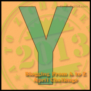 Monday, April 29, is Brought to You by the Letter Y&quot;