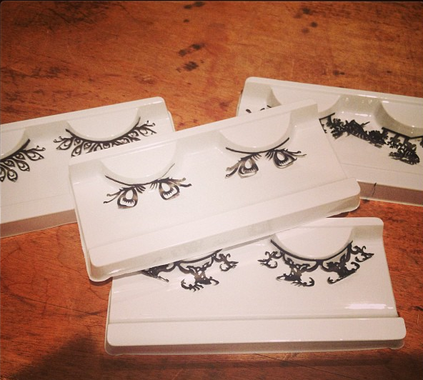 Fantasy Lashes by Micha Paper Lash; Image Credit: www.lizzydugan.com