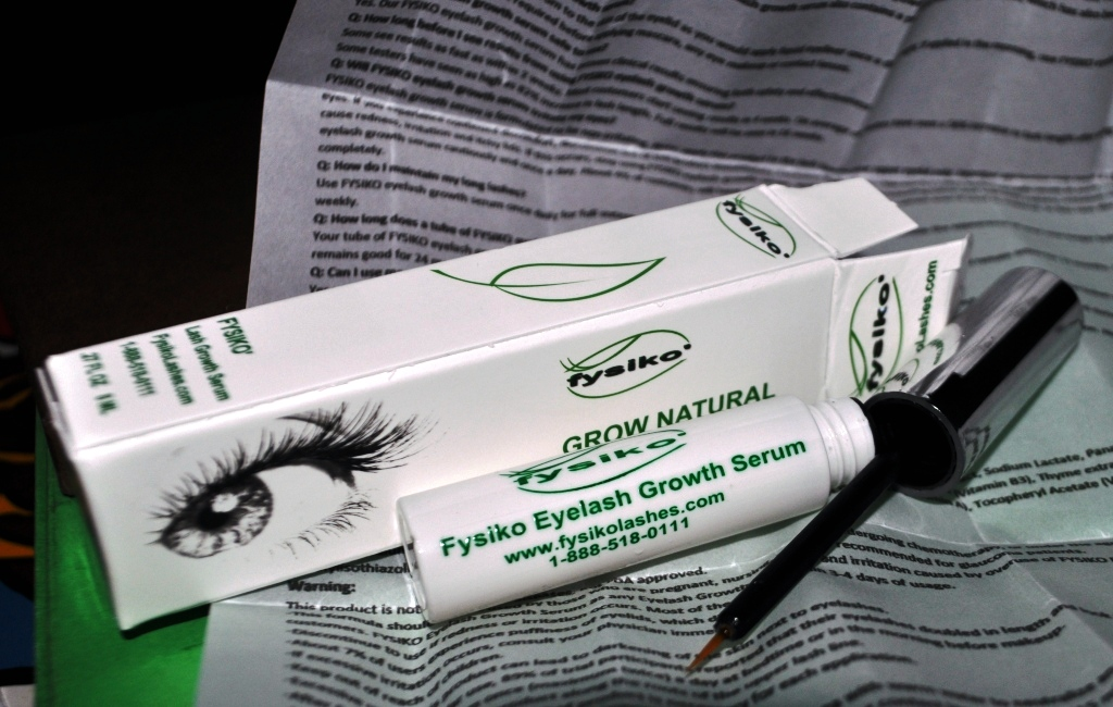 Health & Beauty: Week 1 of the Fysiko Eyelash Growth Serum Journey