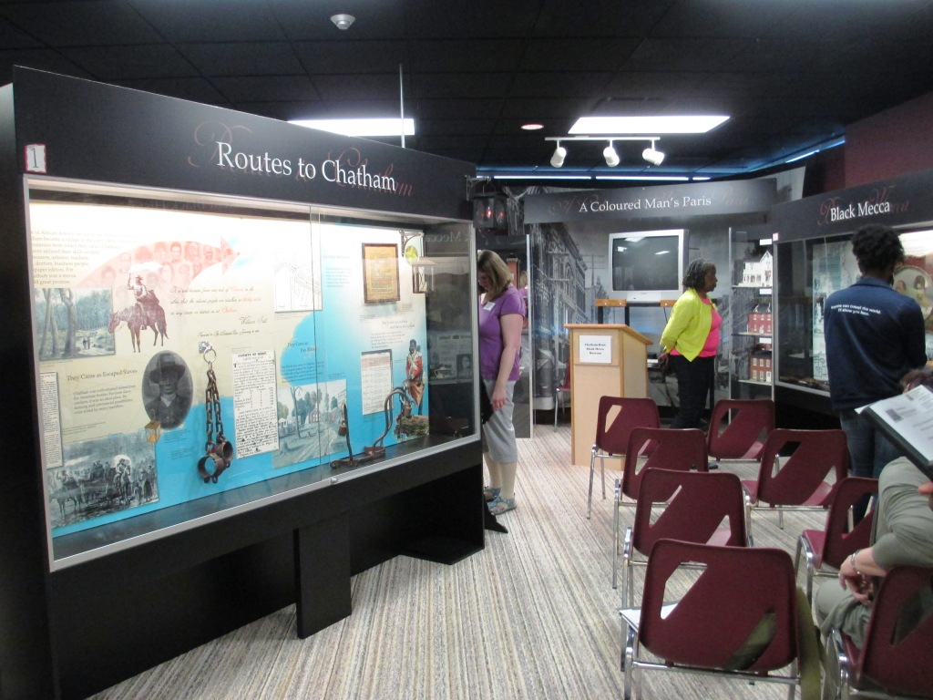 "The Chatham-Kent Black Mecca Museum has been referred as ""One of the pre-eminent African Canadian collections in North America."""