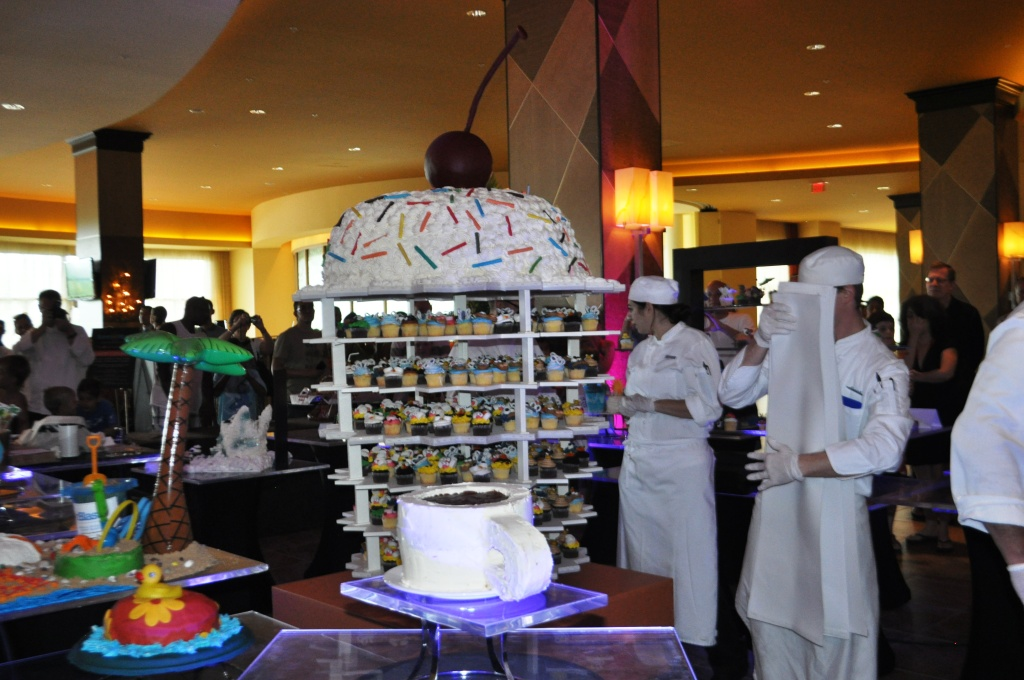 The Big Cupcake Reveal, Cupcake Lovers Weekend, Hilton Orlando Bonnet Creek, Orlando, Fla., June 15, 2013