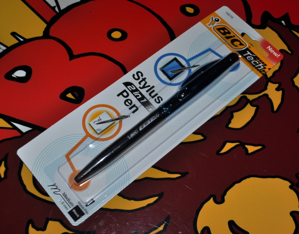 Review and Giveaway: BIC® Tech 2-in-1 Stylus and Pen