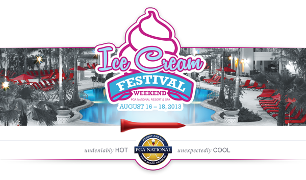 Florida Travel: PGA National Hosting Ice Cream Festival Weekend, Aug. 16 – 18, 2013