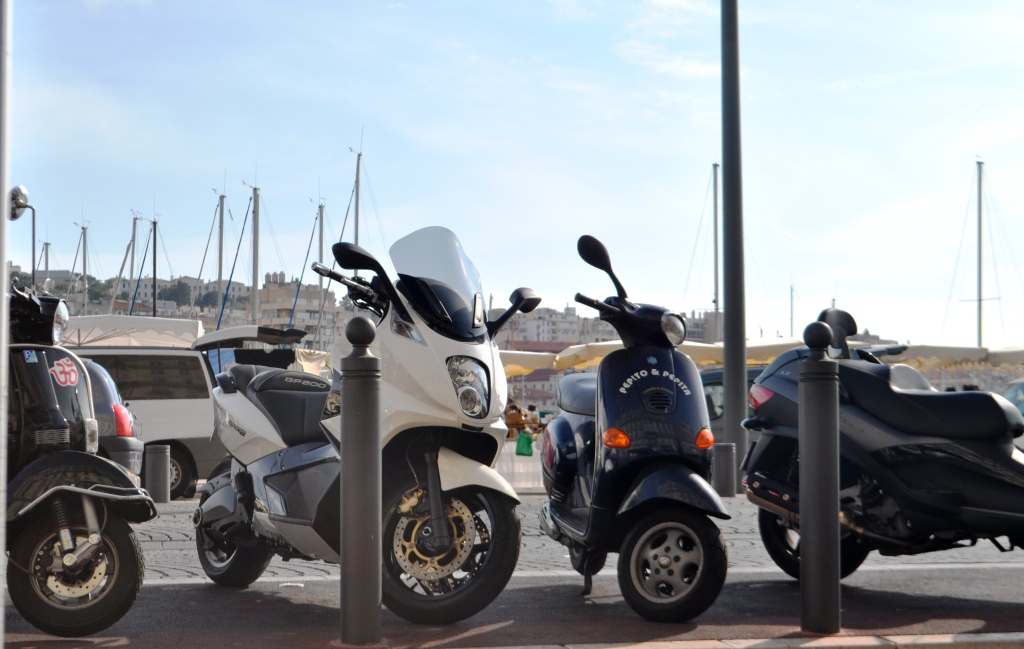 Popular Mode of Transportation in Marseille, France