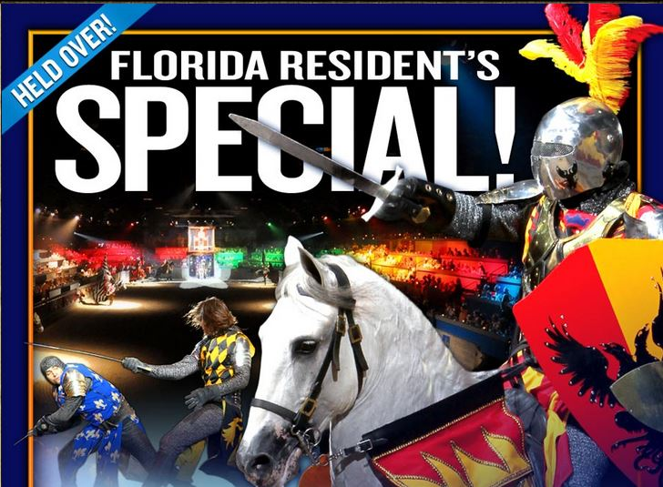 Florida Residents Receive Discounted Rate into Orlando's Medieval Times Dinner & Tournament Image Source: www.medievaltimes.com