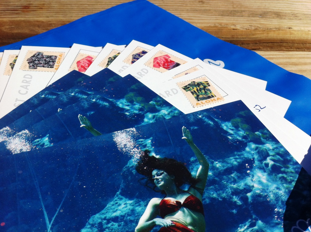 SoloTravelGirl.com's Postcard of the Month Club is Taking a Sabbatical: Cards from Weeki Wachee Springs State Park, Florida