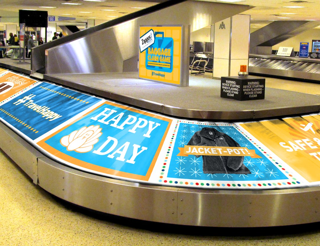 Zappos.com Plans Airport Surprise for Thanksgiving Travelers at George Bush Intercontinental Airport (IAH) in Houston, TX