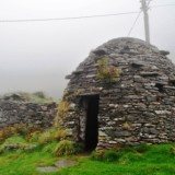 Visiting Ireland's Fahan Beehive Huts with Paddywagon Tours