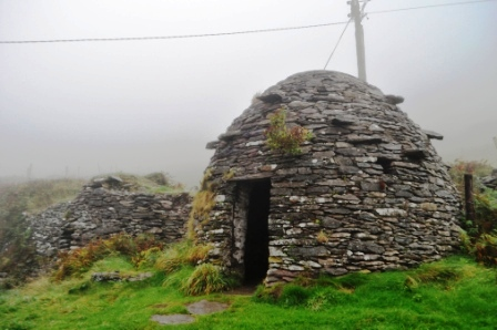 Travel to Ireland - Fahan Beehive Huts, County Kerry