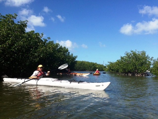 That's Me! Kayaking the Florida Keys with Burnham Guides. Photo: Mary Burnham