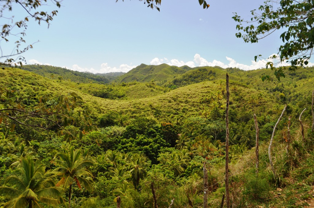 This View on My Way to See El Limón Waterfall Took My Breath Away. It Was So Beautiful.