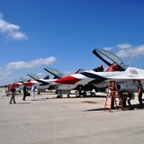 USAF Thunderbirds Roar into Punta Gorda for 2014 Florida International Air Show