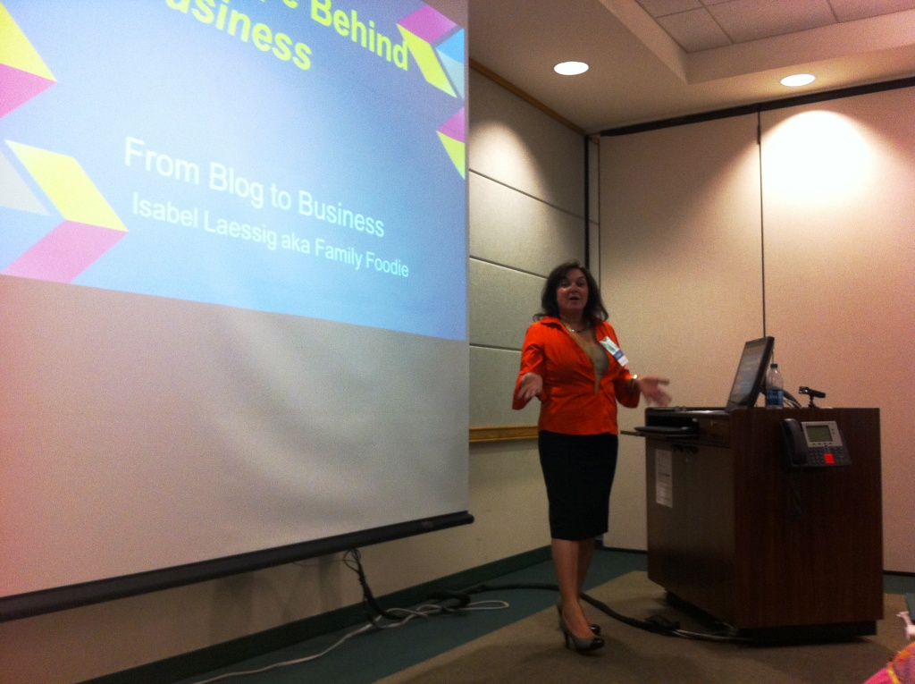 """Isabel Laessig, """"Best Practice for Culinary Blogs,"""" USFSP Florida Food Conference, St. Petersburg, Fla., April 5, 2014"""