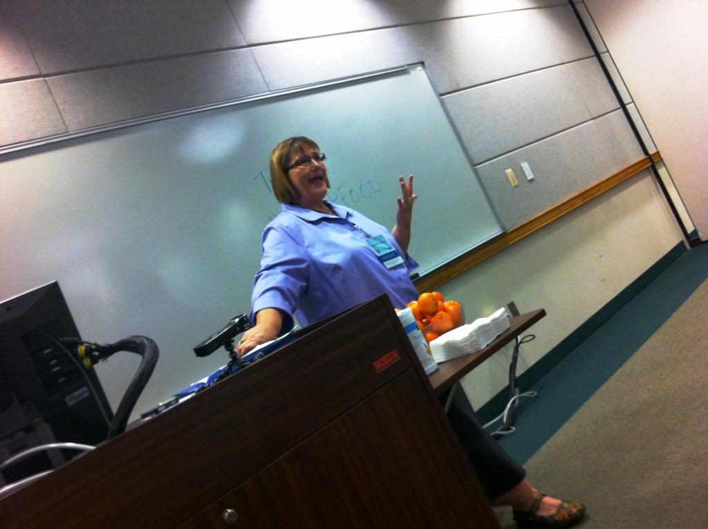 "Janet Keeler, ""Writing for the Senses,"" USFSP Florida Food Conference, St. Petersburg, Fla., April 5, 2014"