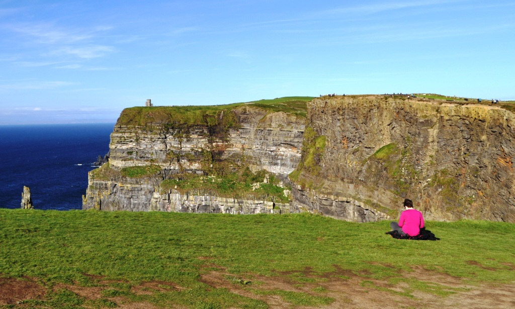 Feeling Mighty Small While Visiting the Cliffs of Moher in Ireland