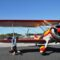 Wing Walker Jane Wicker Bringing Golden Era of Grace to 2013 Florida International Air Show